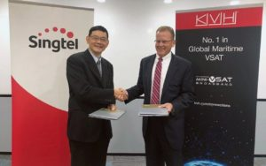 Satellite Partnership Agreed for Asia-Pacific Region