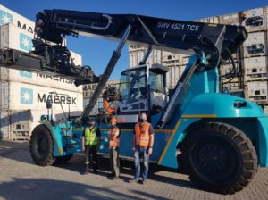 Konecranes delivers reach stacker to APMT facility in South Africa