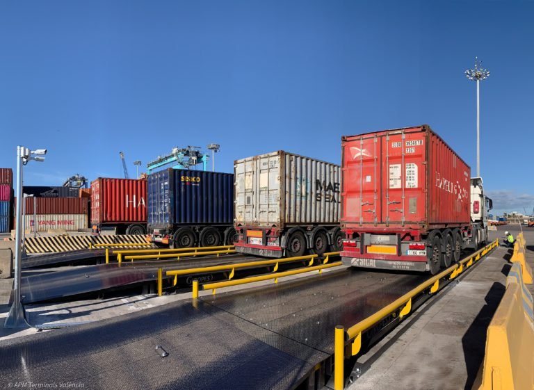 APMT Valencia expands container weighing platform