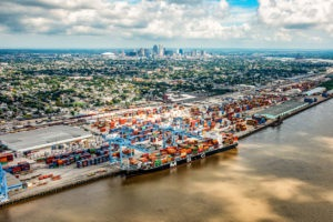 Port of New Orleans Aerial