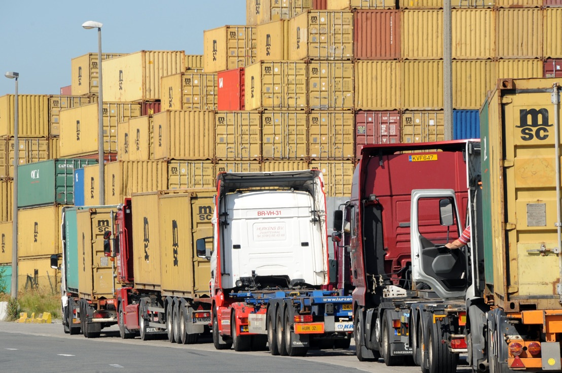 Port of Antwerp expands trucking capacity