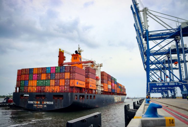 SC Ports welcomes first vessel to Hugh. Leatherman Terminal