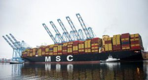 MSC diverts to Tacoma to avoid congestion