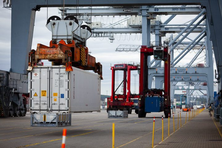 APM Terminals sets new container handling record in Denmark