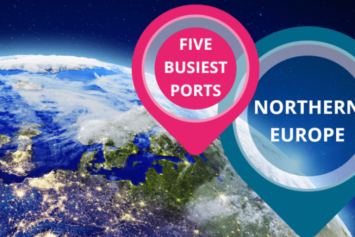 Five Busiest Ports - Northern Europe