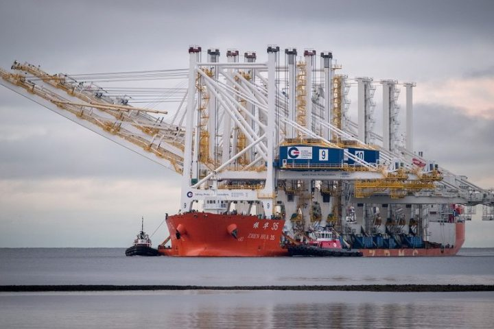 GCT receives two new STS cranes