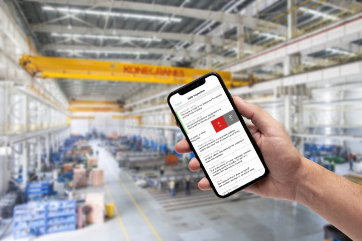 Konecranes launches CheckApp for inspections