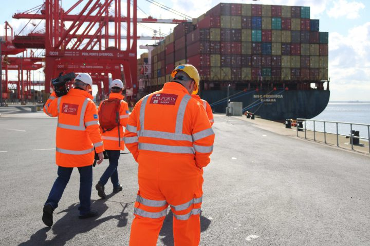Peel Ports workers Liverpool2