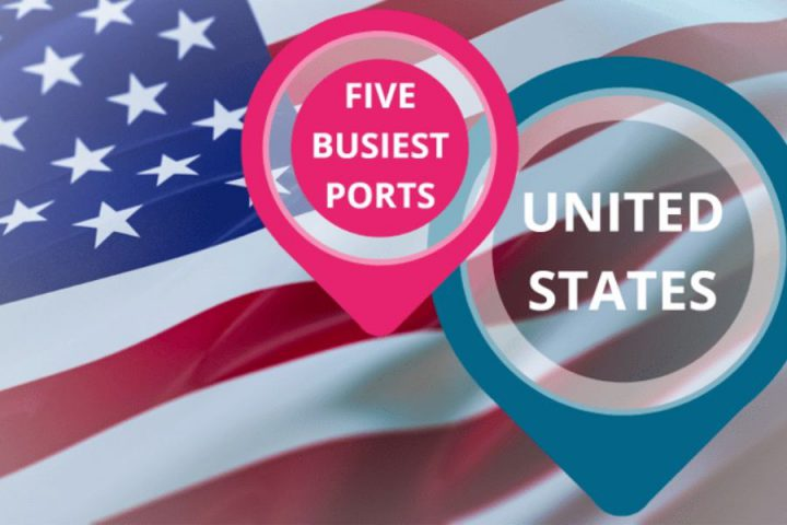 Five busiest ports in the US
