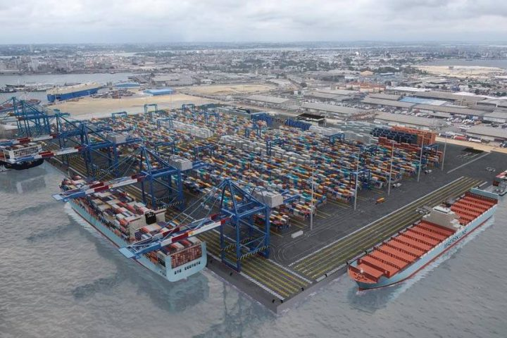 Work on Bollore Ports' new container terminal has begun