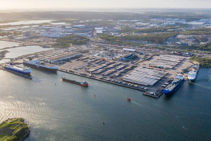 Gothenburg Port Authority launches shoreside network