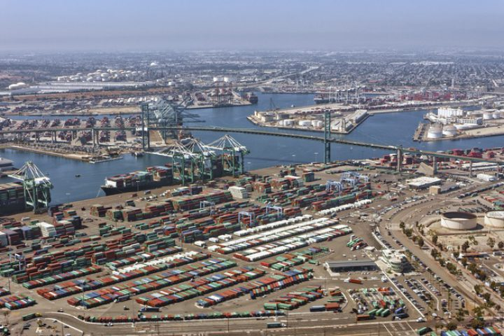 Port of Los Angeles makes strong start to 2021