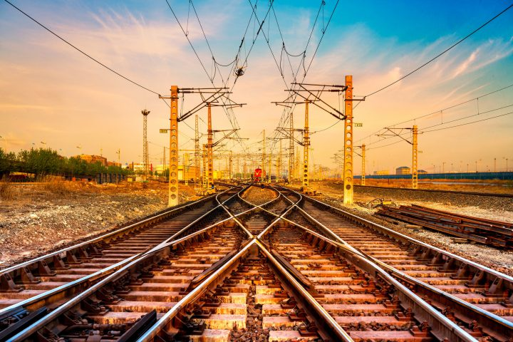 Railroad Track and switch