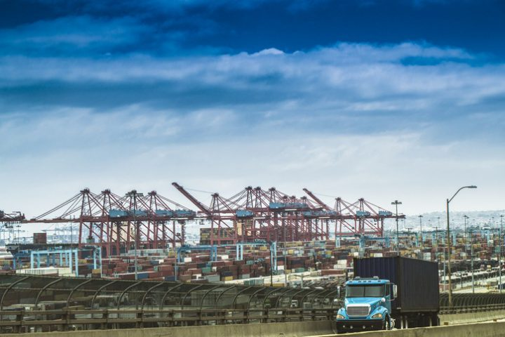 Hope of congestion relief as US imports ease