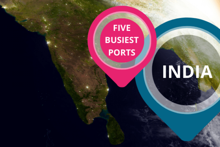 india five busiest ports