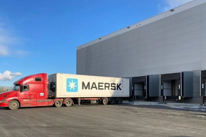 maersk st petersburg cold store